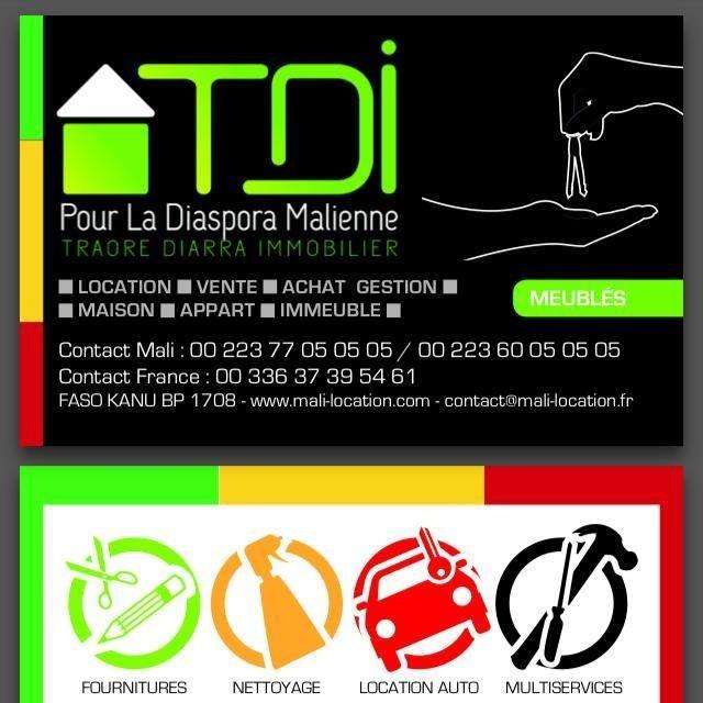 Traoré Diarra Immobilier – TDI