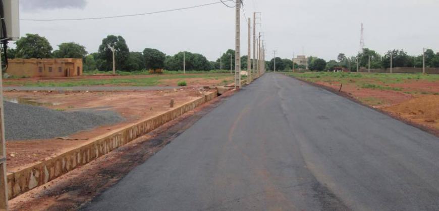 Villa à louer à Magnambougou au bord du fleuve Niger