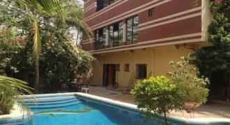 Appartement meublé avec piscine a louer a Missabougou