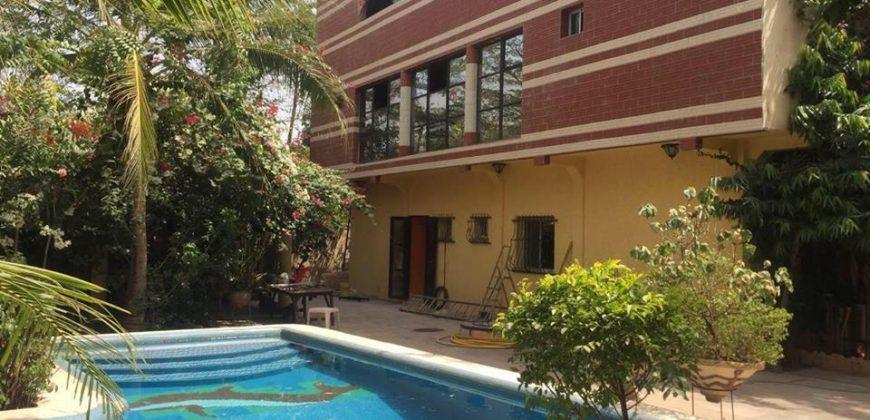 Appartement avec piscine à louer à Missabougou