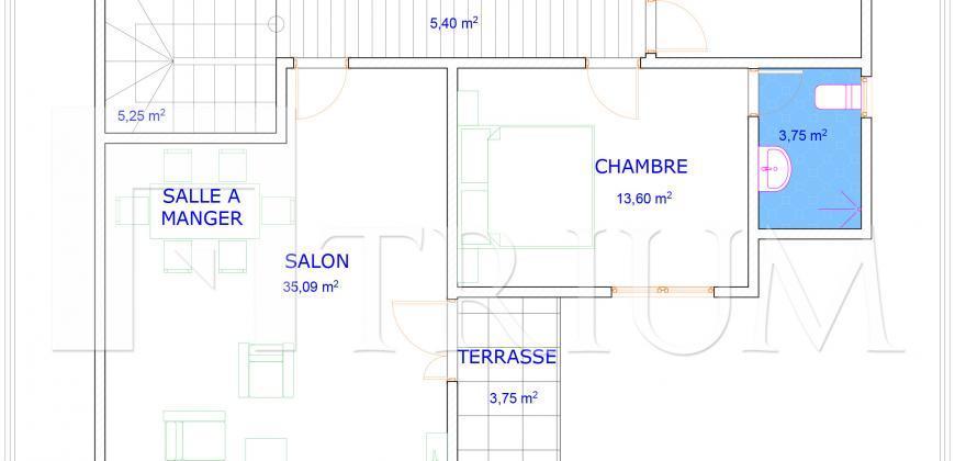 Villas d'architecte a vendre a Sebenicoro