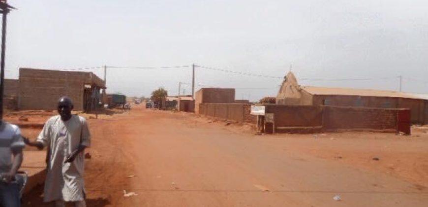 Terrain en vente à Diatoula avec Titre Foncier
