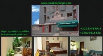 Appartement meublé a louer pour vacances – Abidjan