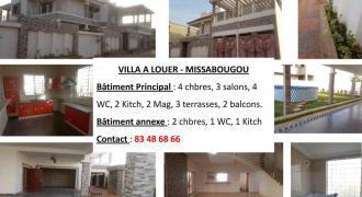 Grande villa spacieuse a louer a Missabougou
