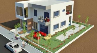 Maisons neuves en Duplex de 3 chambres à vendre à Kati Sicoro en TF