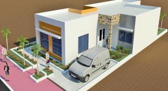 Maisons neuves de 3 chambres à vendre à Missalabougou en TF