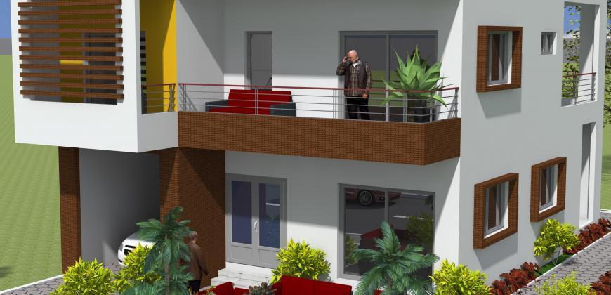 Maisons neuves de 4 chambres à vendre à Missabougou en TF