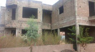 Maison en finition à Missabougou
