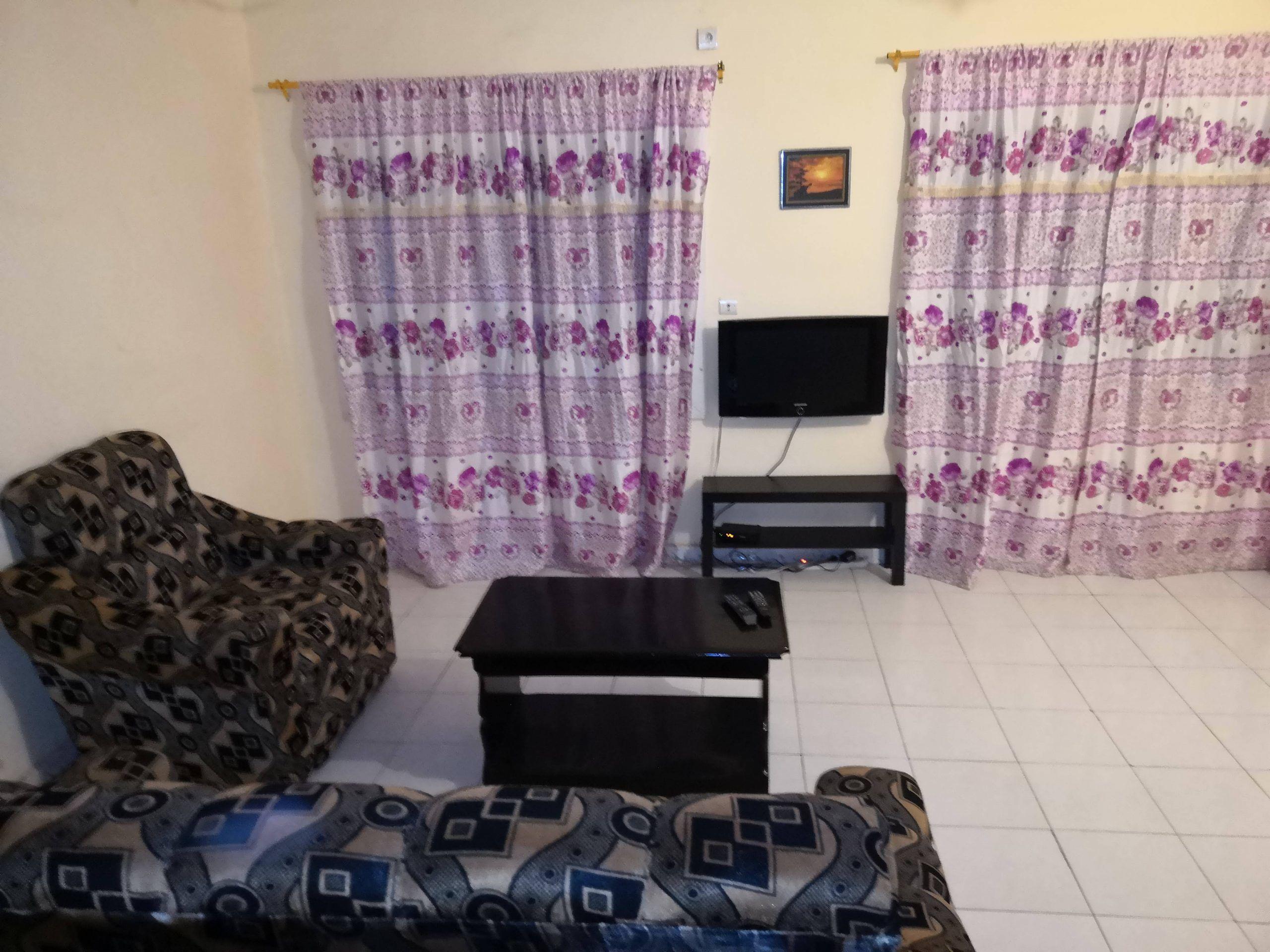 Grand appart F2 meublé climatisée eau chaude para djikoroni Bamako